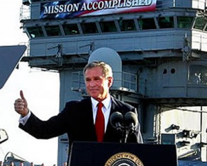 """Mission Accomplished,"" 2004"