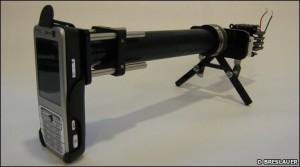 A CellScope prototype