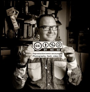 Cory Doctorow portrait by Jonathan Worth